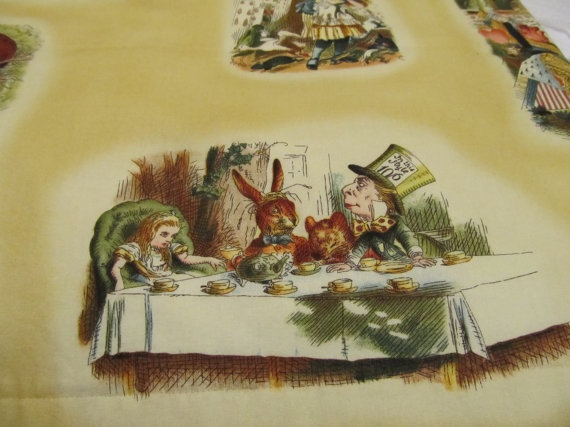 Curtains Ideas alice in wonderland curtains : 17 Best images about Alice in Wonderland Fabrics Ideas on ...