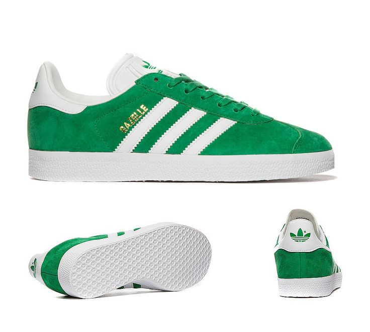 Adidas Originals Womens Gazelle Trainers Green and White [New adidas 420] - £49.59 : Adidas Superstar Sale UK | Adidas Trainers, Originals Shoes Online