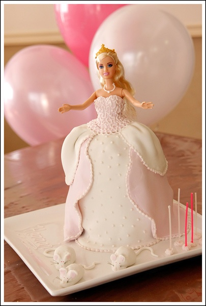 Cinderella Barbie Cake « Birthday Cakes for Kids My daughter would love