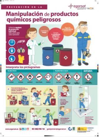 Prevención en la manipulación de productos químicos peligrosos