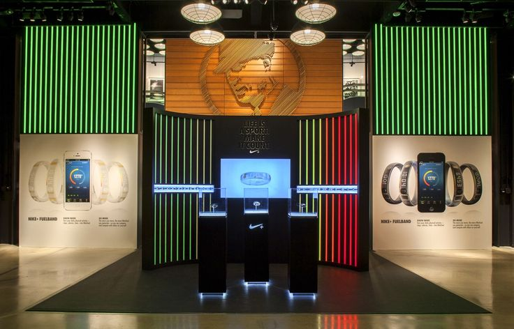Nike Fuel Band | built by ACME Scenic & Display DESIGN: NIKE