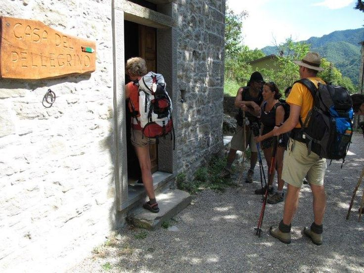 Accommodation List pilgrim Via Francigena