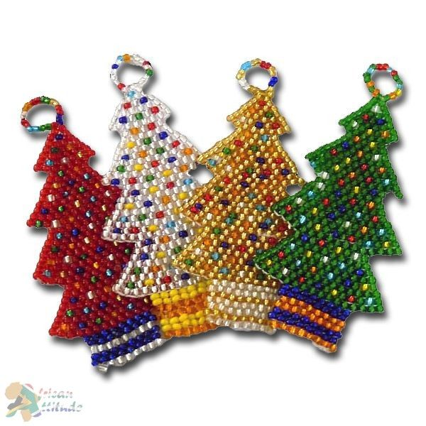 ○ African decorations Christmas trees