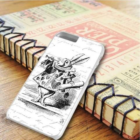Rabbit Alice In Wonderland iPhone 6 Plus|iPhone 6S Plus Case