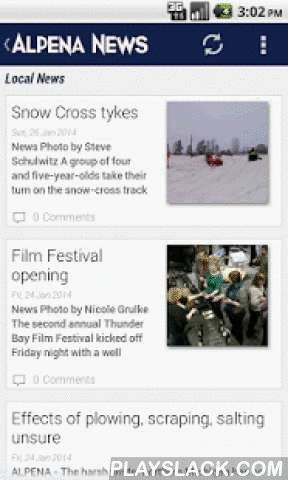 Alpena News  Android App - playslack.com ,  Local News from The Alpena News. The Alpena News is the main source for news for Alpena, Presque Isle, Alcona and Montmorency counties in Michigan.- Breaking News Alerts - Local News - Local Sports - Polls - Full Article Search - Local Garage Sales and Directions