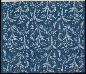 Ramages de feuillage fleuri - référence n° 691 | Centre de documentation des musées - Les Arts Décoratifs