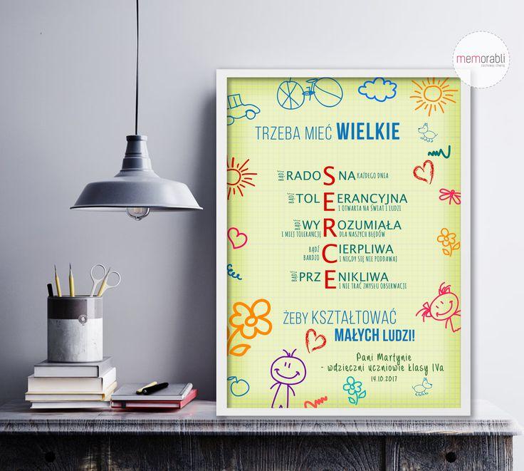 #memorabli #handmade #poster #plakat #koniecroku #dlanuczyciela #podziekowania #dyplom #przedszkolak #dziennauczyciela