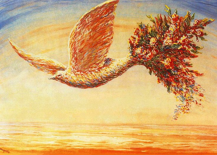 Рене Магритт. Благоприятное знамение