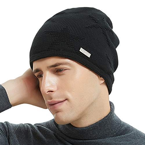 4914b102ed7362 Chic OMECHY Winter Knit Slouchy Beanie Hat Unisex Daily Warm Ski Skull Cap  4 Colors. [$8.89 - 12.89] topbrandsclothing from top store