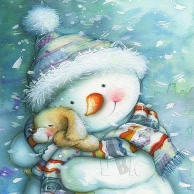 snow snuggles