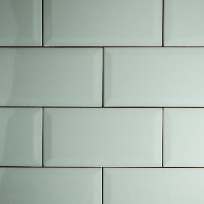 Kitchen Tiles Duck Egg Blue: Metro Duck Egg Blue 10 X 20 Cm