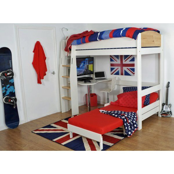 Best 25 cool loft beds ideas on pinterest cool beds for for Cool high beds