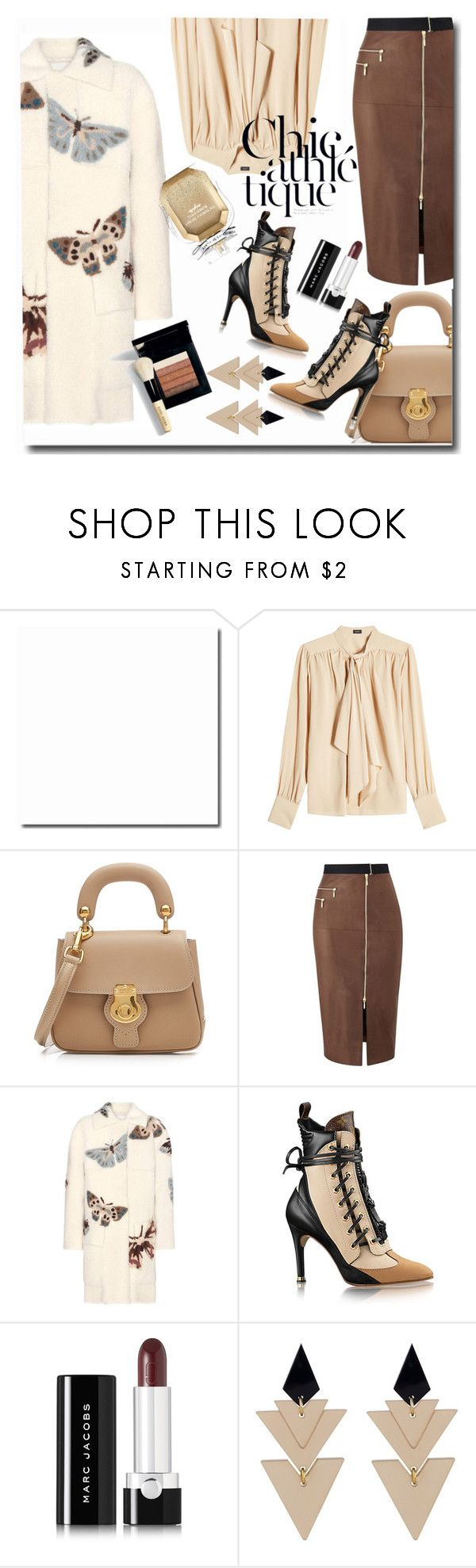 """Untitled #931"" by pesanjsp ❤ liked on Polyvore featuring Joseph, Burberry, Amanda Wakeley, Valentino, Marc Jacobs, Toolally, Bobbi Brown Cosmetics and Victoria's Secret"