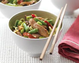 Asian Style Pork and Vegetables