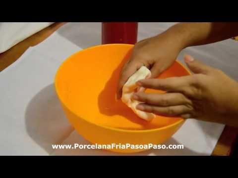 DIY♥Ablandar masa de Porcelana fría que está dura - YouTube