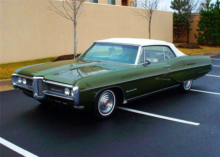 2) 1968 Pontiac Bonneville