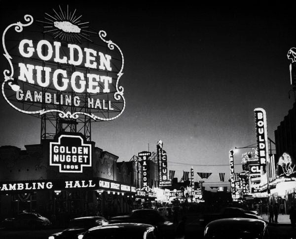Photograph by J.R. Eyerman. Las Vegas, Nevada, USA, May 1950.