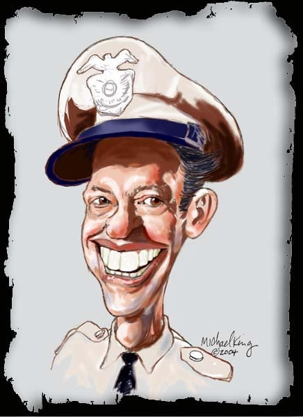 Andy Griffith Show - Barney Fife (by Michael King)