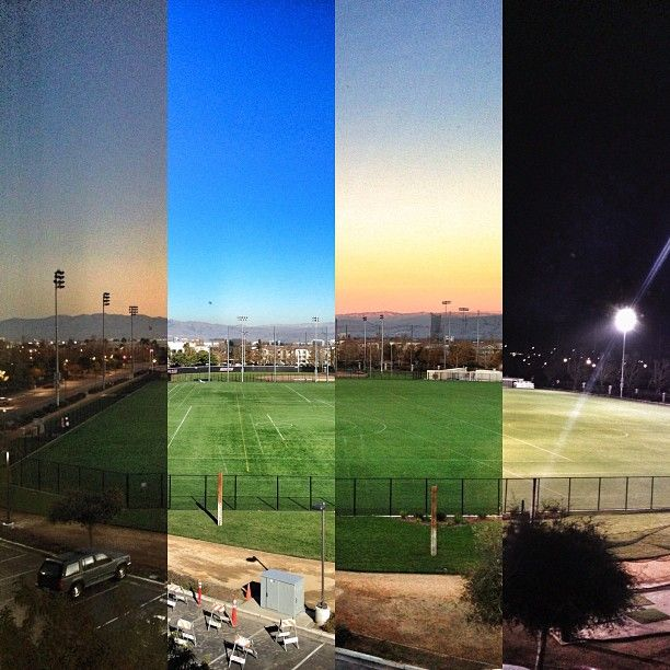 Awesome view of Bellomy fields from day to night, captured by Instagram user, @Justin Matoi.