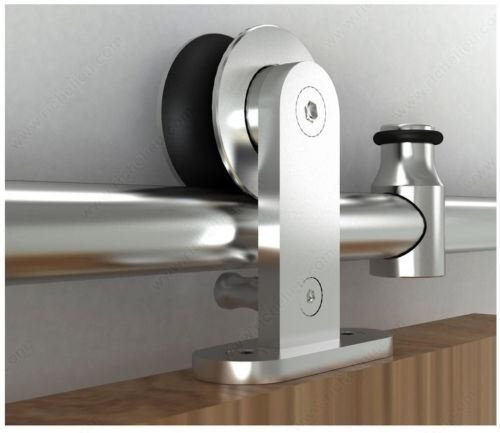 Door Railing System Sliding Rail Barn Door Hardware Steel Roller