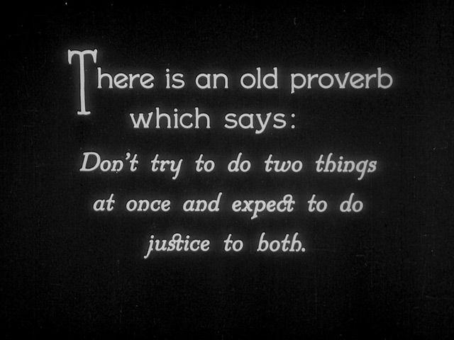 Sherlock Jr. (1924) Buster Keaton