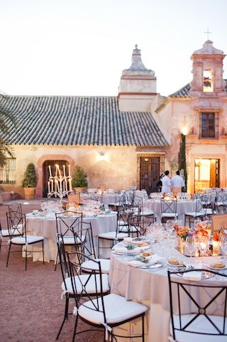 Magnificent Spanish wedding at Hacienda Molinillos, Seville, Spain.
