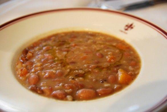 La zuppa di Farro e Fagioli