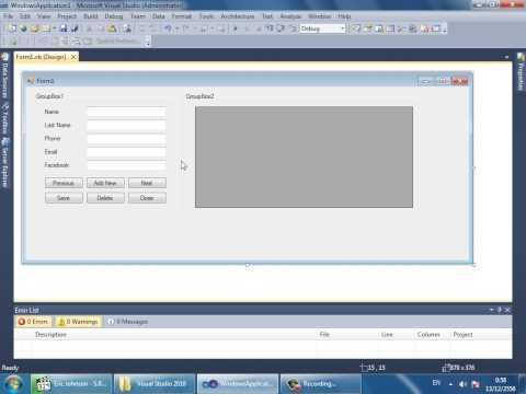 Programming in Visual Basic .Net How to Connect Access Database to VB.Net - YouTube