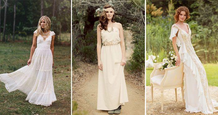 Свадебные платья в стиле рустик - популярные модели и фасоны 2015 года с фото