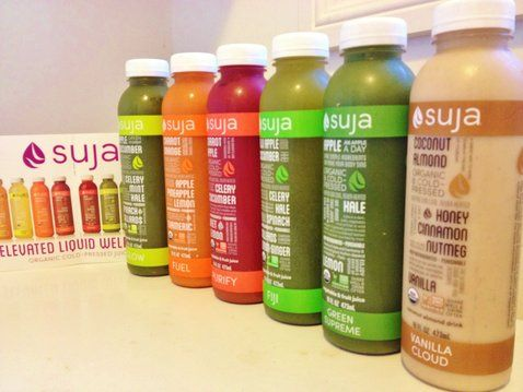 Review of the Suja Juice cleanse - organic, cold-pressed juices that detoxify and balance the body.