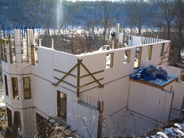 40 best tornado resistant hurricane resistant homes using for Icf home construction