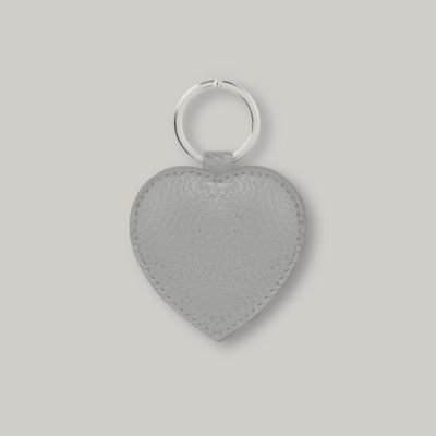 Heart Key Ring - Frost Grey from The White Company