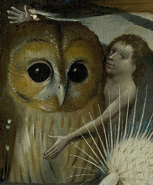The Garden of Earthly Delights (detail) by Jerome Bosch