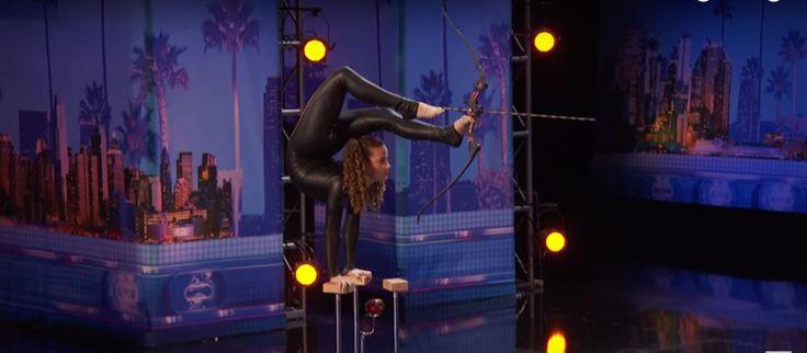 WATCH: 'America's Got Talent' 2016: Teen Contortionist Shoots Arrow Using Feet…