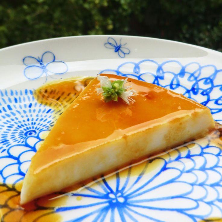Siba-Rita: Flan de queso rápido / No bake quick cream cheese flan