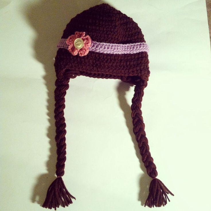 Crochet toddler/child hat, Disney's Doc McStuffin's character