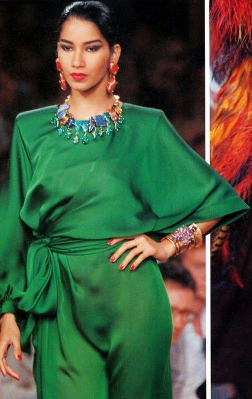 1990-91 - Yves Saint Laurent Couture Show