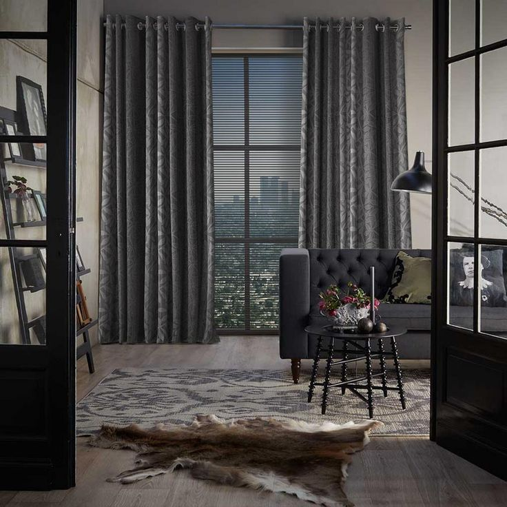 50 shades of grey  Love classic curtains form Toppoint!