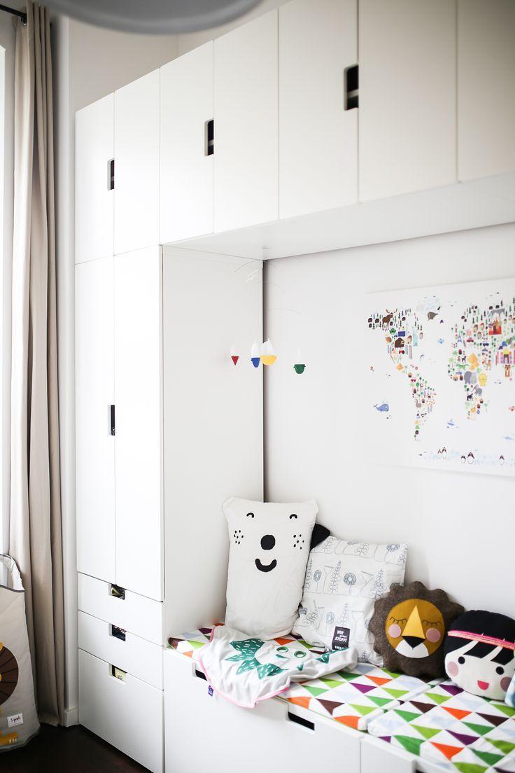 Friedrichs neues Kinderzimmer, living on small space, Inspiration auf 11 qm mit Stauraum ohne Ende | Pinspiration