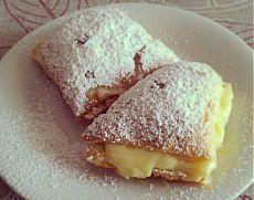 Неженка — сладкие пирожные-слойки. Легкий рецепт | Вкусный рецепт