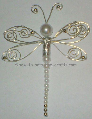 beaded dragonfly 2