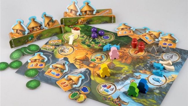 The best kids' board game of the year: Stone Age Junior. We can't wait to play it!