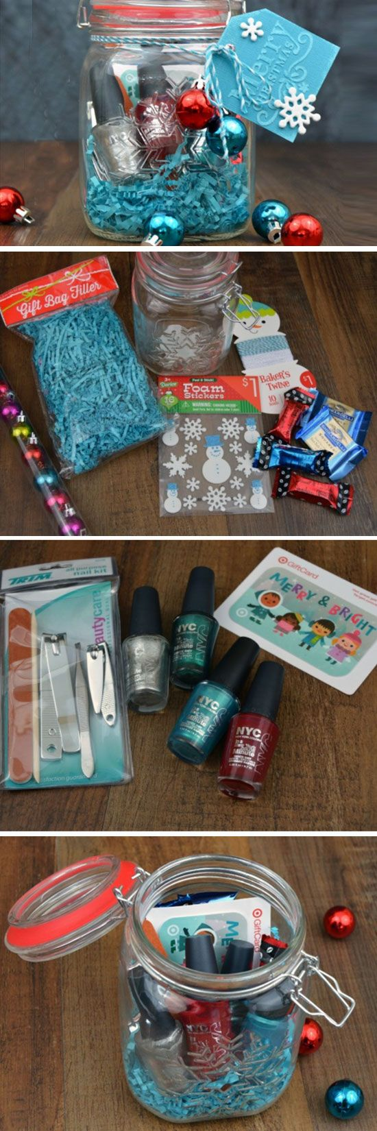 Hidden Gift Card Treasure | DIY Christmas Baskets for Teens | Easy Gift Ideas for Teen Girls