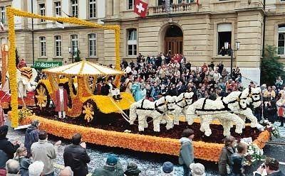 La festa della vendemmia di Neuchâtel (NE) - Svizzera