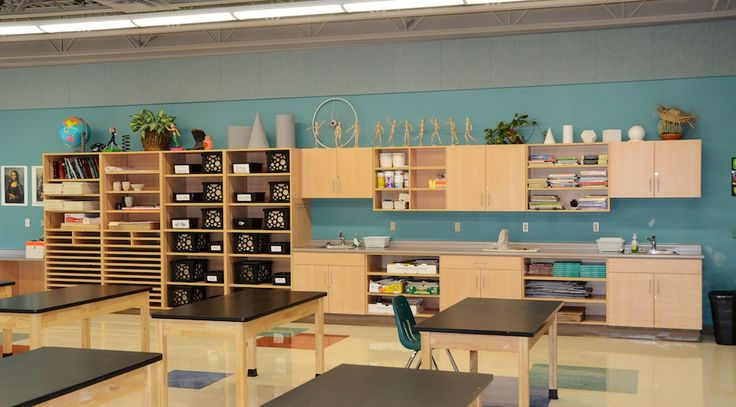 Art Classroom Design- How to successfully set up an art studio safely, and effectively.