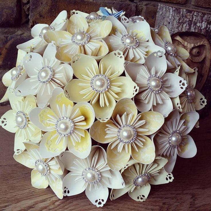 Beautiful Wedding Flowers Bespoke Bouquet Ideas: 17 Best Ideas About Fabric Flower Bouquets On Pinterest