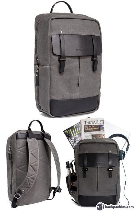 Timbuk2 Cask Laptop Backpack - Mens travel and work backpacks - the perfect commuter backpack - Full Review: https://backpackies.com/blog/10-best-backpacks-for-work-professional-and-stylish/#timbuk2