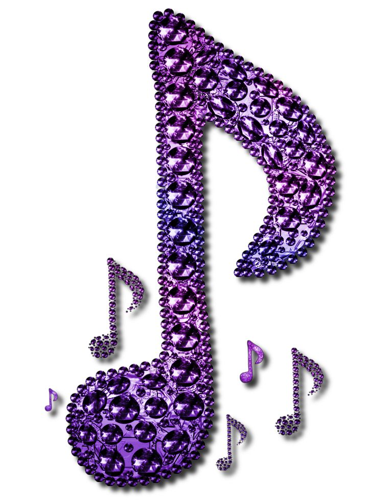 Purple Music Note Design 2 By JSSanDA Music Symbol MusicNote
