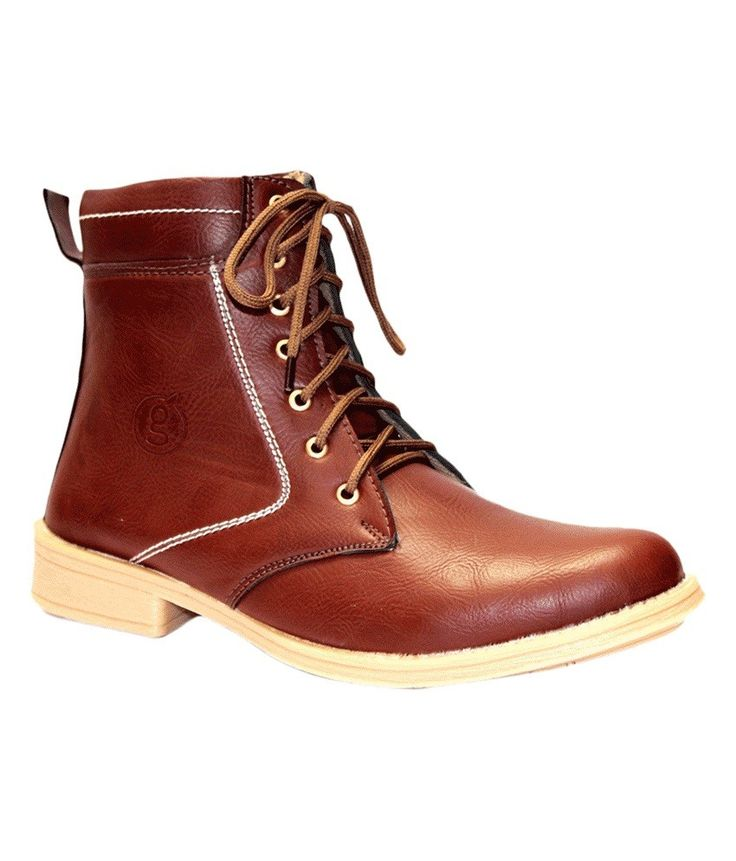 Guava Mid length Boots, http://www.snapdeal.com/product/guava-brown-boot/1758986392