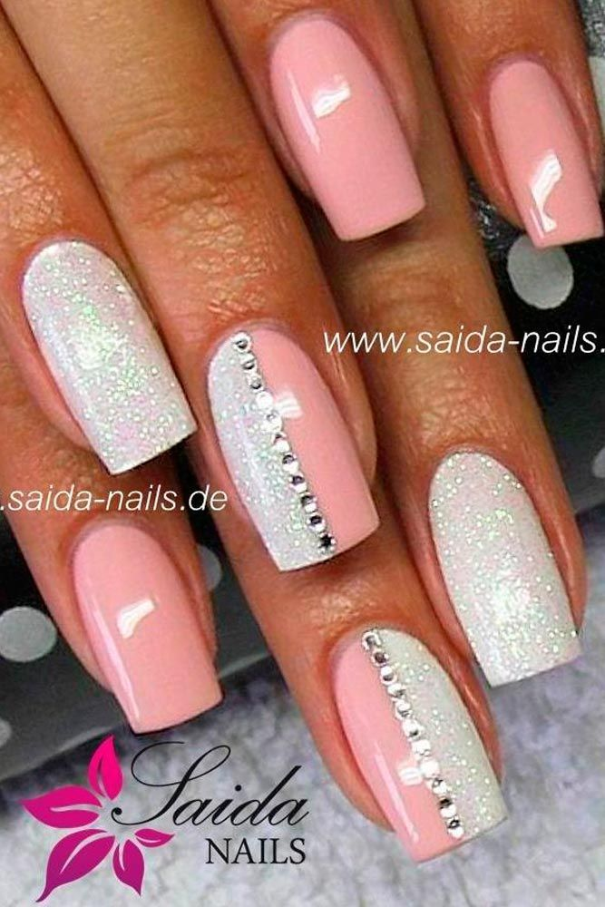 39 perfect pink nails designs to finish incredibly girly look - Ideas For Nails Design